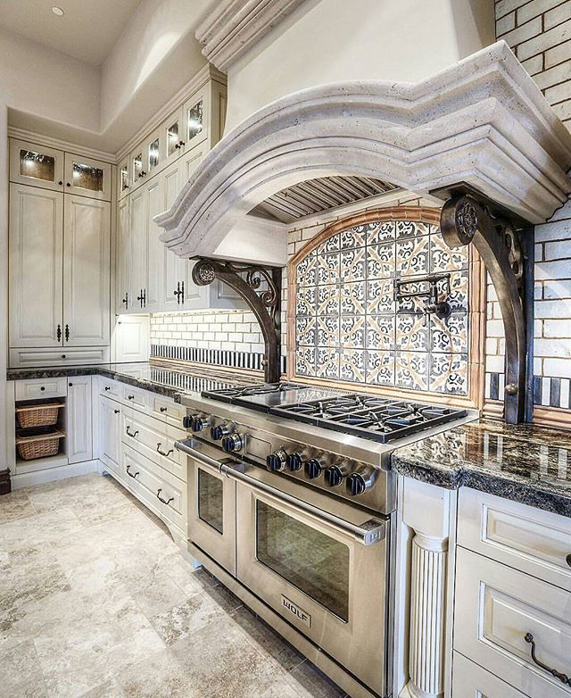 218 best Kitchen Range Hoods Mantels Arches images on Pinterest