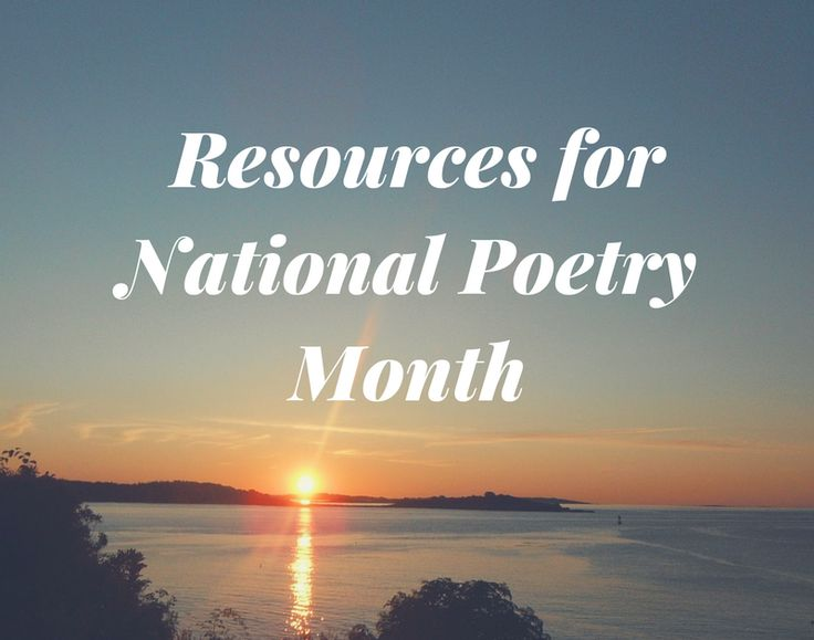 """April is Poetry Month. Whether you're trying to help students understand and interpret the meaning of poems or you're trying to help them write their own poems the following five resources are worth exploring. (By the way I always wonder who gets to declare the something is """"national X month?"""" That might be a good short research activity). To start the month you might consider using a relatively new TED-Ed lesson titled What Makes a Poem?ReadWorkshas aselection of famous poemsavailable on…"""