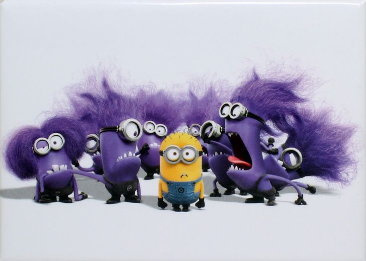 Outnumbered Minion Magnet
