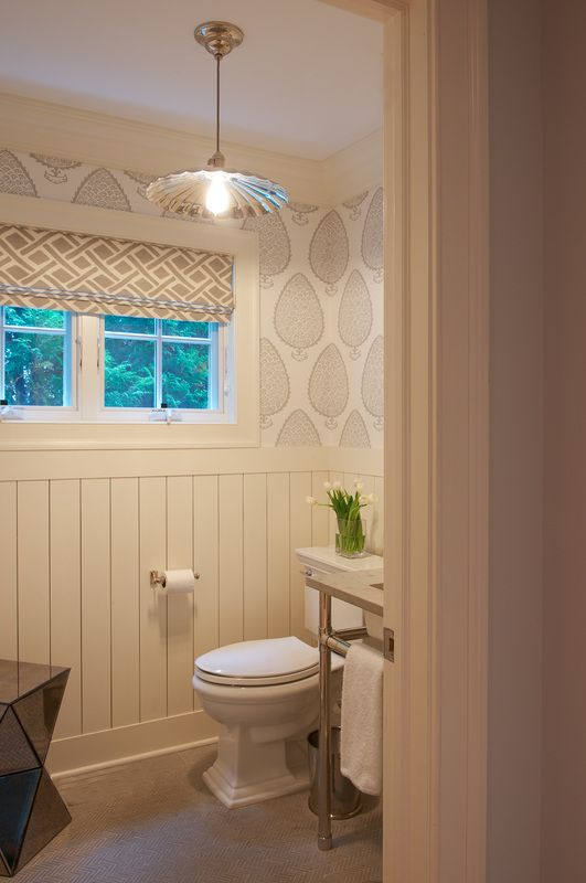 Powder room a collection of ideas to try about home decor for Small hall bathroom remodel ideas
