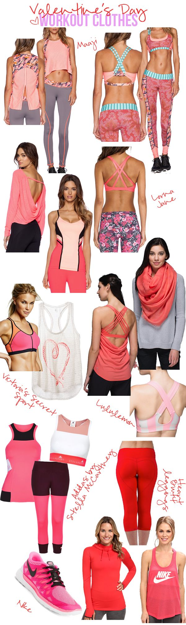 Lots of great workout clothes