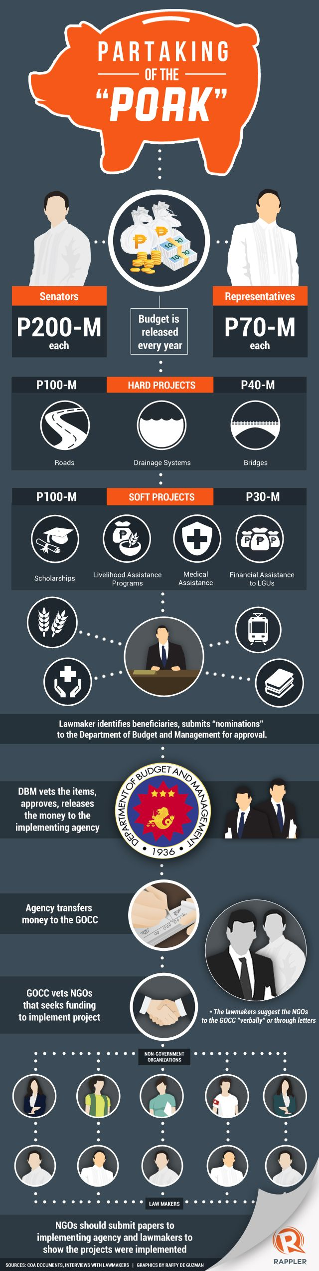 INFOGRAPHIC: How NGOs get their hands on the pork barrel