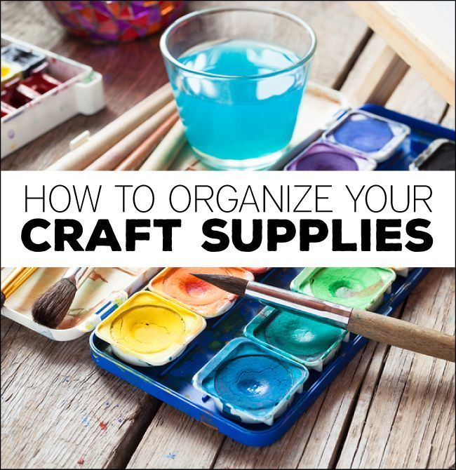 184 best craft room organization images on pinterest for How to organize craft supplies