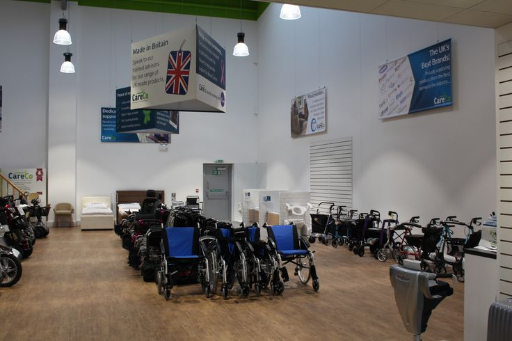We have a wide range of wheelchairs and walking aids available at our Hayes Showroom. Come on down or give us a call on 0208 561 7733.