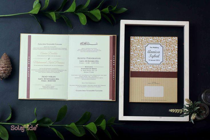 Foto undangan pernikahan oleh Sola Fide Invitation