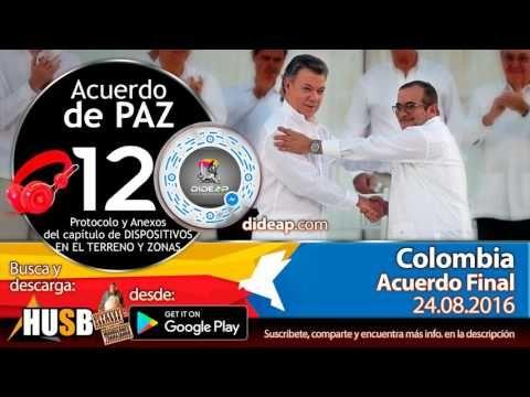 Acuerdo de Paz de Colombia en Audio Libro 12 Plebiscito 2016