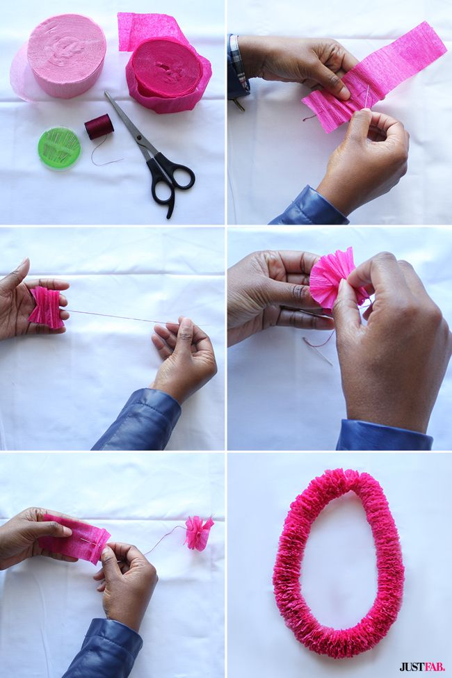 Congratulate the grad in your life with this DIY graduation leis tutorial.