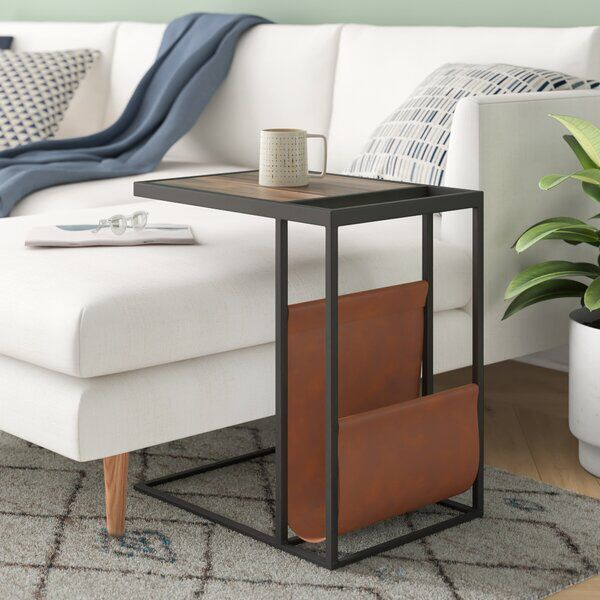 Karina C End Table Contemporary End Tables End Tables Sofa Side Table C side tables living room