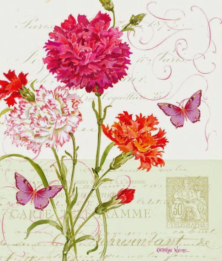 Imprimolandia: Láminas de flores vintage