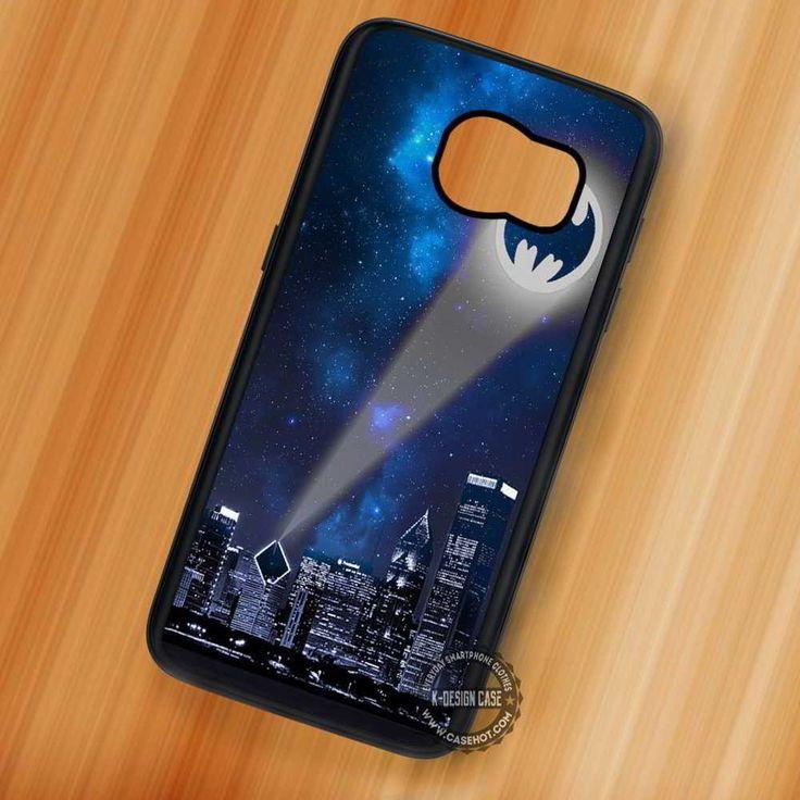 Bat Signal Batman Logo - Samsung Galaxy S7 S6 S5 Note 7 Cases & Covers