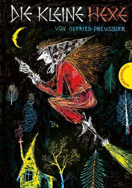 """""""Die kleine Hexe"""" (1957): Die kleine Hexe möchte mit den großen Hexen auf dem..."""