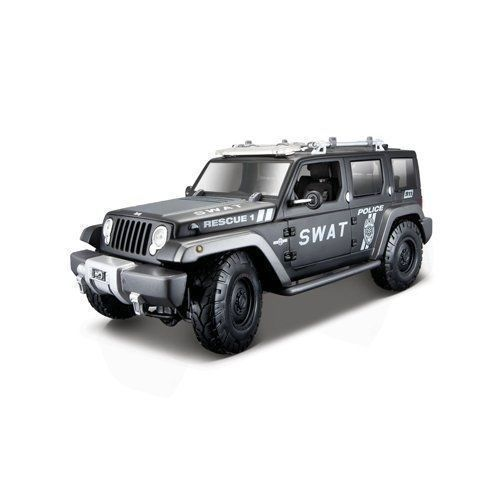Check out Jeep Rescue Concept Police SWAT - Maisto 1 18
