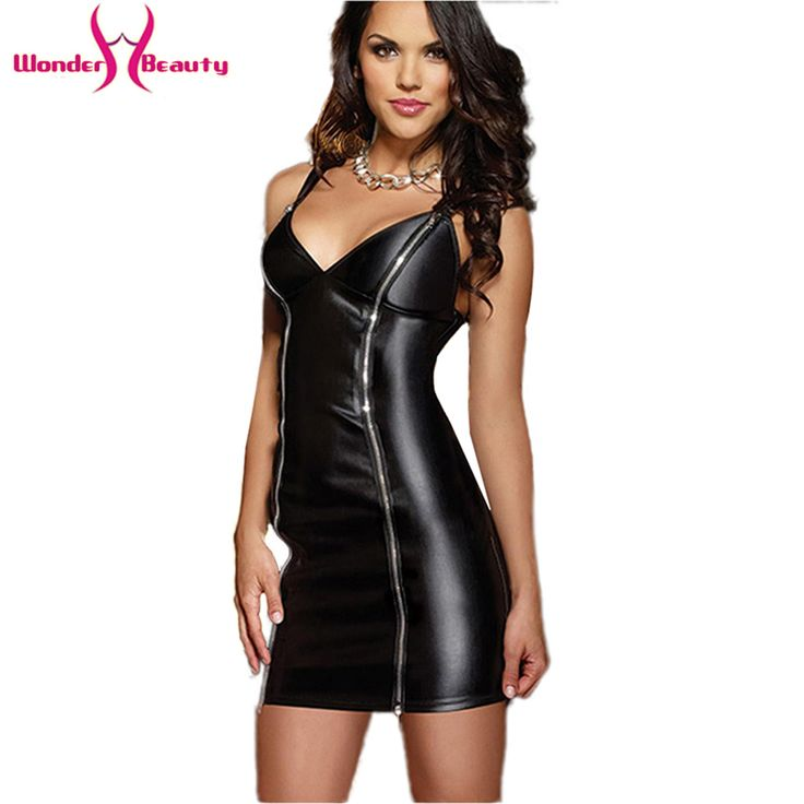 Women fashion accessories leather dress