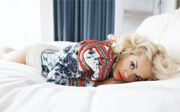 Rita Ora. I don't anything about her or her music, but she's gorgeous.