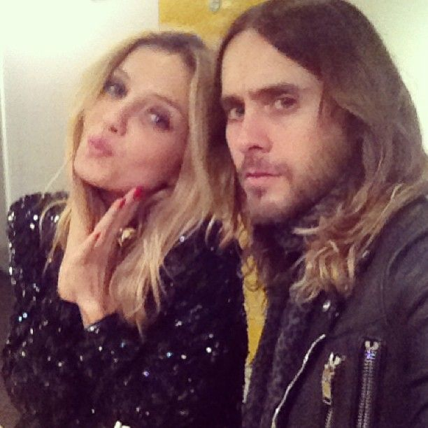 Photo of Jared Leto  & his friend Annabelle Wallis