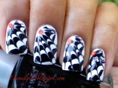 Halloween nails art