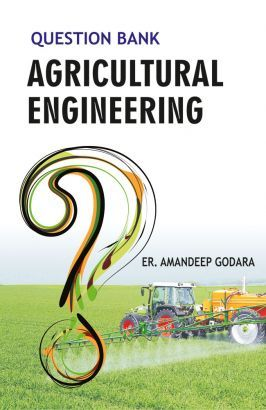 """#Question #Bank on #Agricultural Engineering"" #circumscribes the 9 years solved papers of GATE (Graduate Aptitude Test in Engineering) Agricultural Engineering Examination. The book will be suitable enormously to the aspirants preparing for ARS, SRF, JRF, NET, GATE etc. examination. Solved Papers Of 2007 To 2015"