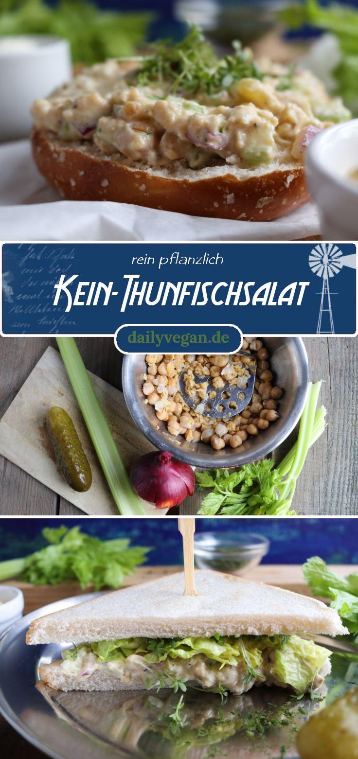 Ensalada sin atún: delicioso pan   – Vegan auf's Brot – Aufstriche und Salate