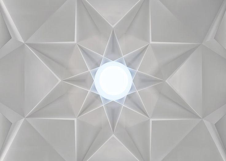Charles Correa completes crystalline Islamic centre