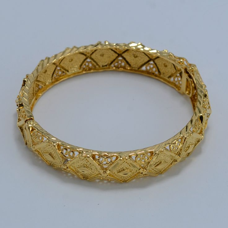 6 CM éthiopien bracelet femmes 18 K jaune plaqué or bijoux en gros mariée de mariage l'éthiopie bracelet 2016 Nouvelle Afrique Bracelet arabe dans Bracelets rigides de Bijoux et accessoires sur AliExpress.com | Alibaba Group