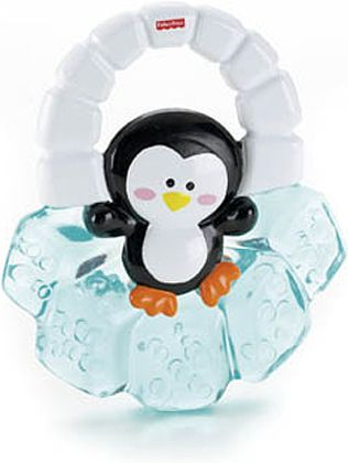 Penguin Water Teether by Fisher-Price at BabyEarth.com, $3.95