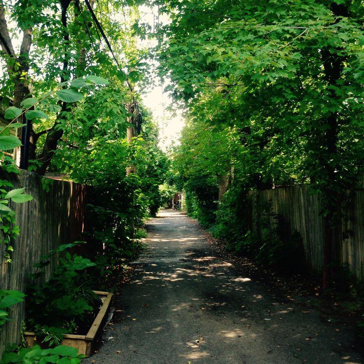 Itinéraire dans 15 des belles ruelles vertes du Plateau et des environs. À faire à pied ou à vélo, pour y découvrir des merveilles architecturales et d'aménagements.