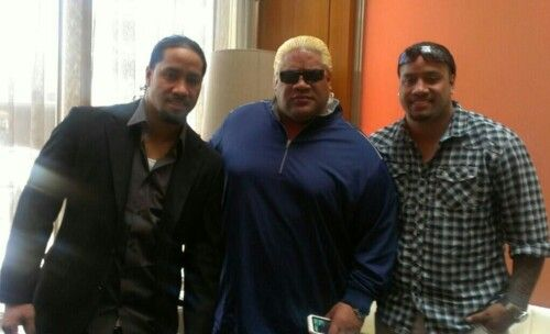 Rikishi with his son again