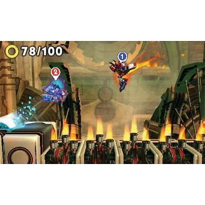Sonic Boom: Fire & Ice (Nintendo 3DS)