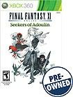 Final Fantasy XI Online: Seekers of Adoulin Expansion Pack - PRE-OWNED - Xbox 360 - Front Detail