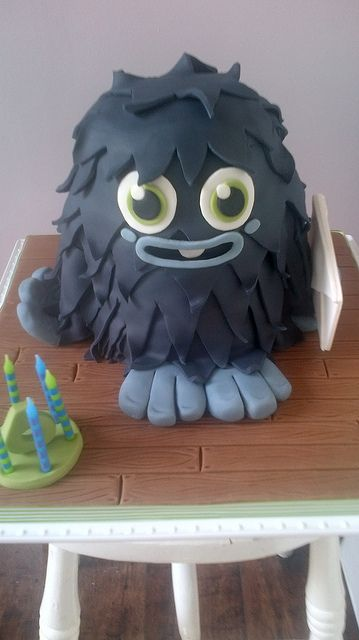 Furi Moshi Monster Cake by peggypal, via Flickr