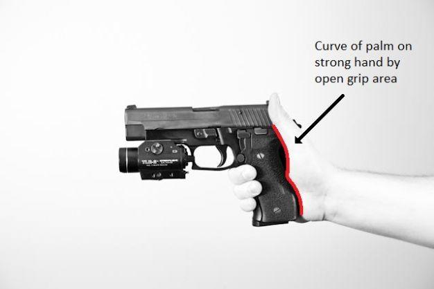1 Holding The Pistol Pistol Handgun Shooting Hand Guns