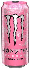 Monster Pink Energy Drink