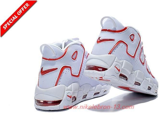 Nike Air More Uptempo 414962-004 WHITE RED Pippen Womens5