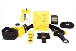 TRX Suspension Trainer Home Kit. Suosittu harjoitusväline. InnoSport fysiikkakirjastossakin on yli 100 TRX-harjoitetta.