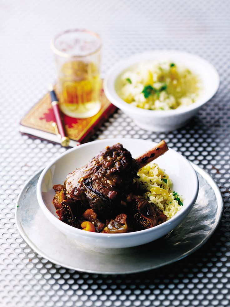 Melt-in-the-mouth lamb, slow-cooked with all those fantastically aromatic flavours of North Africa.