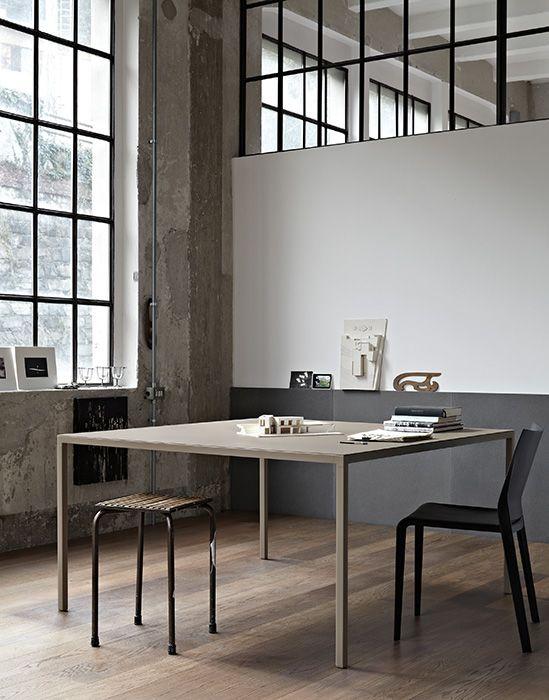 windows, table