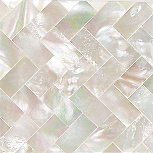 Daltile Ocean Jewels 2 X 2 Herringbone Accent Tile In Mother Of Pearl Bathroom Inspirationbathroom Ideasbathroom