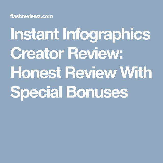 Instant Infographics Creator Review: Honest Review With Special Bonuses