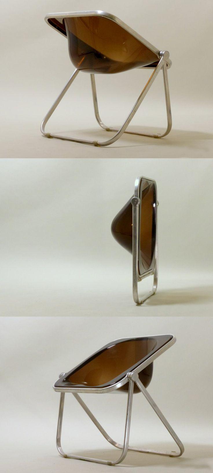 Giancarlo Piretti Plona Folding Chair for Castelli