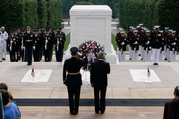 The unknown soldier tomb