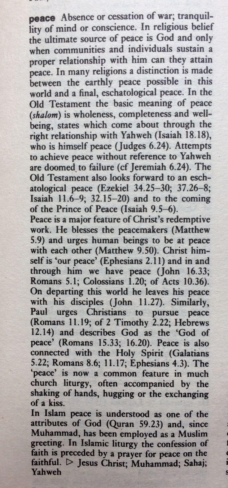 Reference: The Wordsworth Dictionary of Believes and Religions. A comprehensive guide to world-wide faiths, 1995, p. 397.