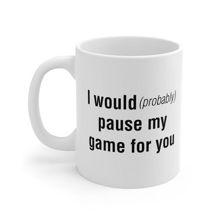 Funny Gamer Mug, Gamer Mugs, Gifts For Gamer, Nerd Mugs, Funny Nerd Mug, Video Game Mugs, Gifts For Boyfriend