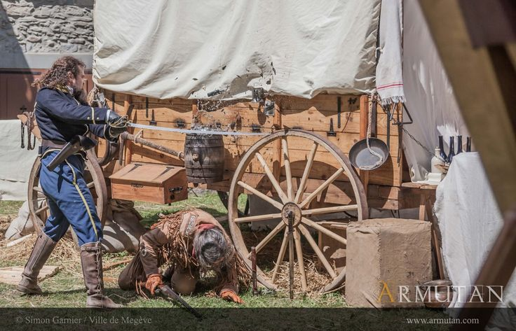 ©#armutan ©#simongarnier #chariot #farwest #combat #yankee #trappeur #sabre #bouteille