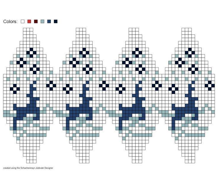 Christmas knitting ball, by Julekuler Designer app