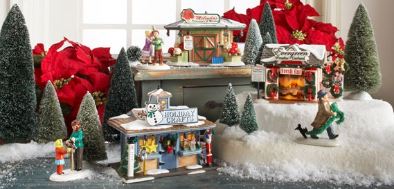 Department 56 lighted villages