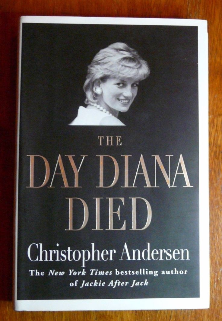The Day Diana Died Christopher Andersen HC w/DJ Princess Diana Biography | Books, Nonfiction | eBay!