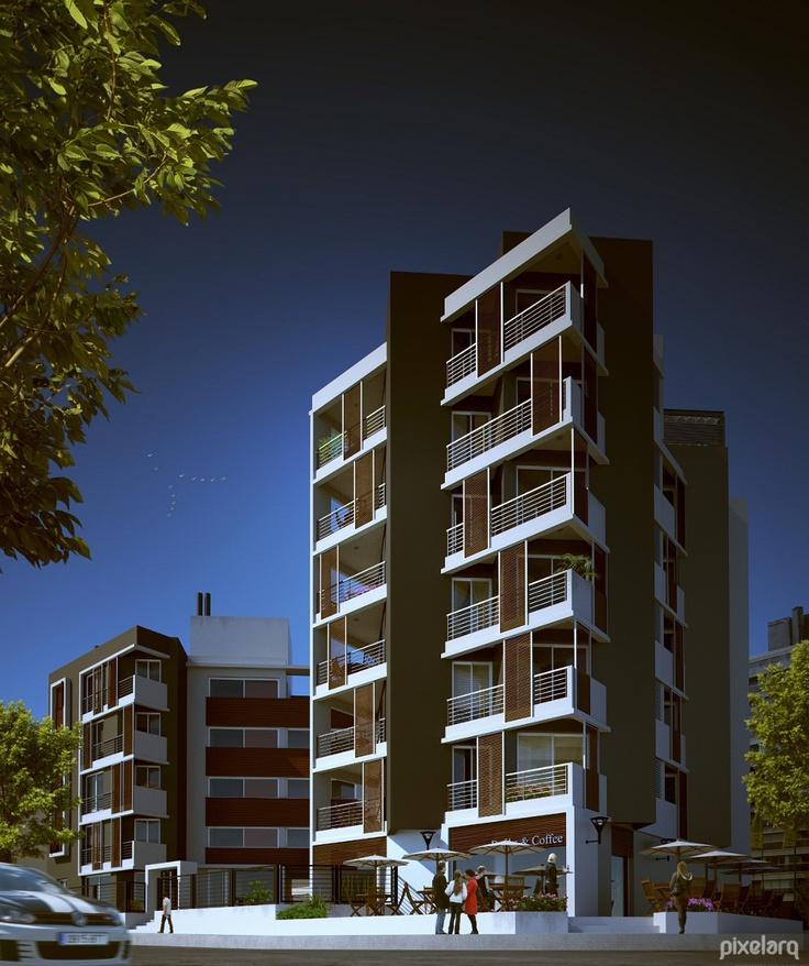 Exterior Building   #Architecture #MaxwellRender #Rendering #3d #Blender3d #Render