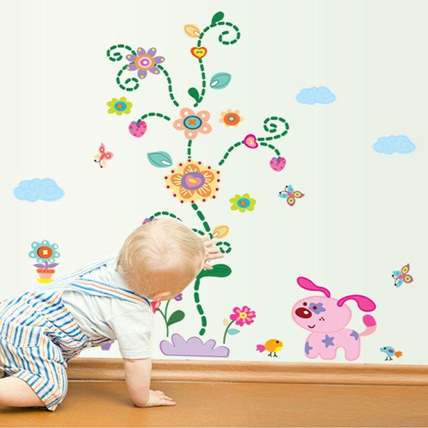 Горячий стиль может быть удалены Том, дик и гарри мультфильм детский сад детская комната спальня фон украшения класса