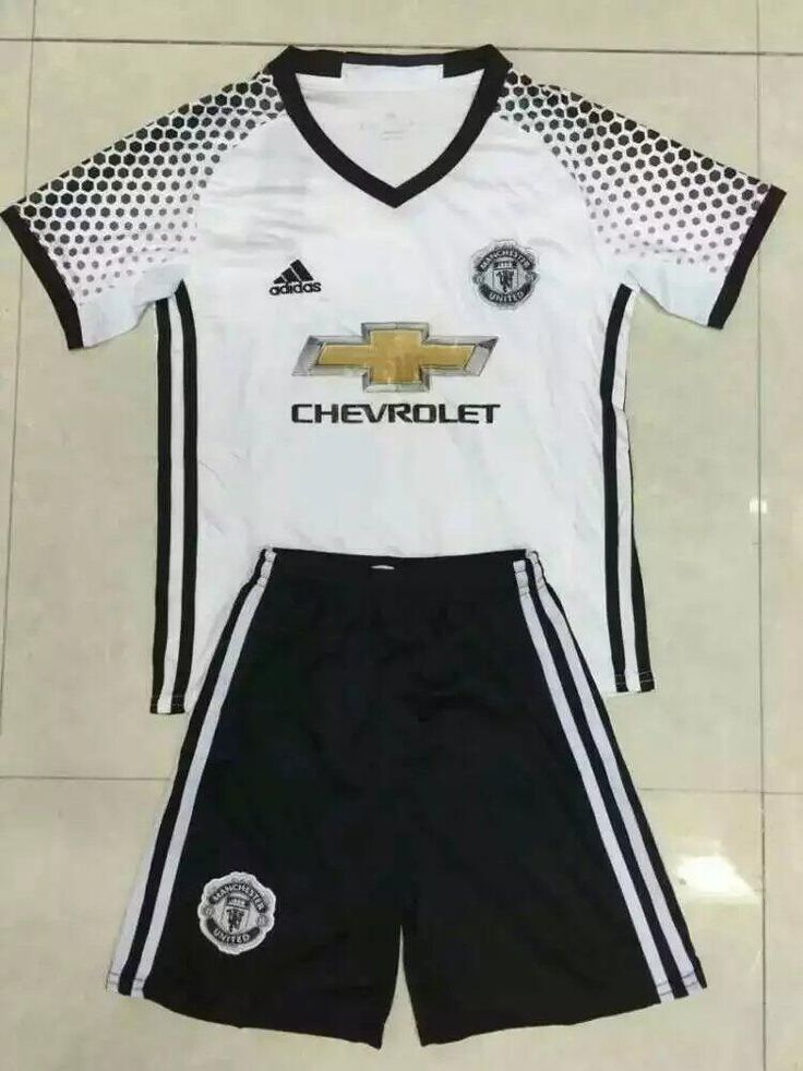 MAN UTD 16/17 Away Kids Uniform