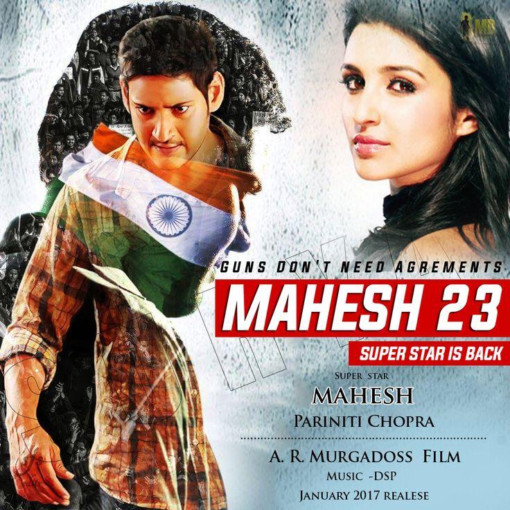 Upcoming Movie #Mahesh23  #superstar #maheshbabu & #pariniti #Chopra #Action ,#romance Director AR #Murugadoss Music #HarishJayraj Year #2017